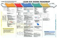 Dmaic Report Template Lean Six Sigma Flow Chart Project Sample  Six pertaining to Dmaic Report Template