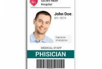 Doctor Id Card   Wit Research  Id Card Template Identity Card regarding Work Id Card Template