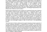 Document  Summary Conclusions On The Dissemination Of The with Conflict Resolution Agreement Template