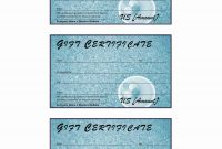 Donation Gift Certificate pertaining to Microsoft Gift Certificate Template Free Word