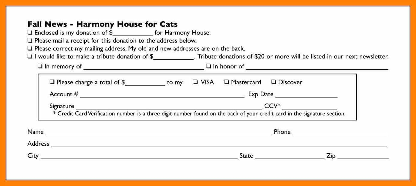 Donor Card Template  Instinctual Intelligence With Regard To Donation Cards Template