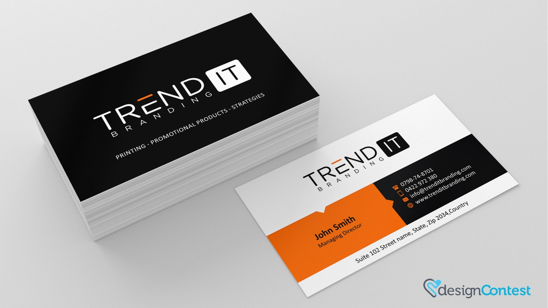 Do's And Don'ts Of Business Card Design  Designcontest Regarding Generic Business Card Template
