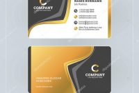Double Sided Business Card Template Illustrator Awesome Double Sided inside Double Sided Business Card Template Illustrator