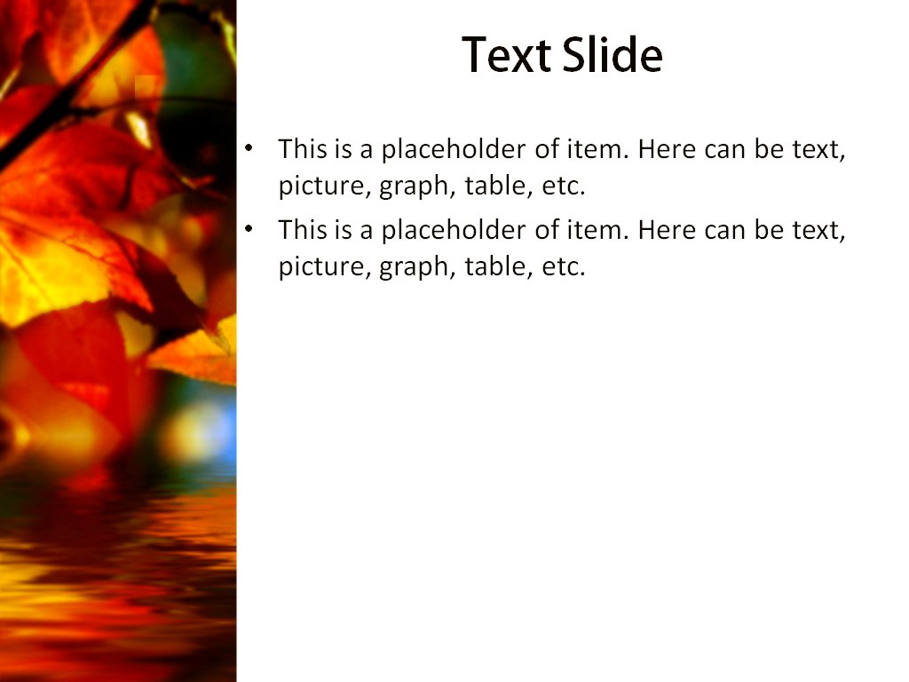 Download Free Autumn Leaves Powerpoint Template For Presentation Regarding Free Fall Powerpoint Templates