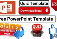 Download Free Template For Making Powerpoint Visual Quiz for Powerpoint Quiz Template Free Download