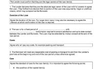 Download Loan Agreement Style  Template For Free At Templates Hunter inside Long Term Loan Agreement Template
