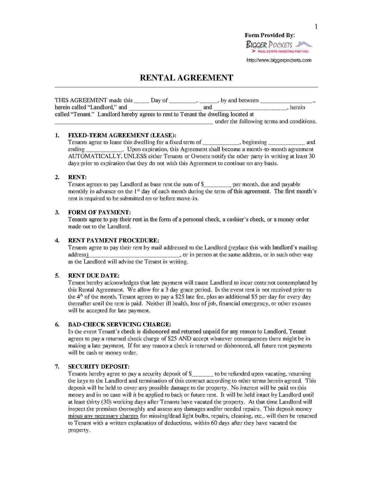 Download Renttoown Agreement Style  Template For Free At Within Free Rent To Own Agreement Template