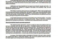 ▷ Modern Cohabitation Agreement Template Free   Hold throughout Free Cohabitation Agreement Template