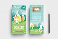 Easter Dl Rack Card Template  Vector Ai  Psd  Brandpacks within Dl Card Template