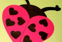 Easy Diy Valentine's Day Ladybug With Free Printable Templates for Blank Ladybug Template