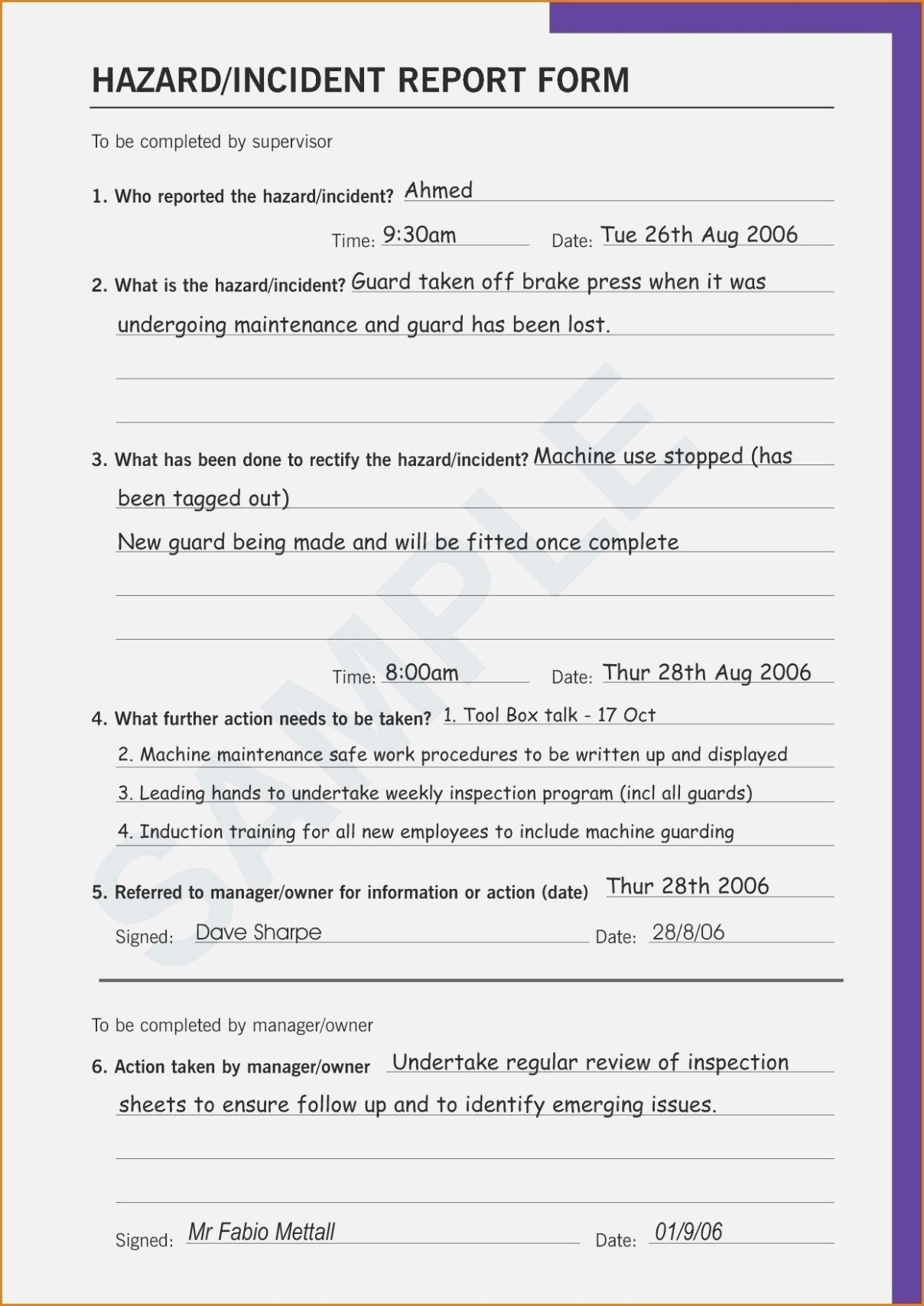 Easy Rules Of Rma Form  Realty Executives Mi  Invoice And Regarding Incident Hazard Report Form Template