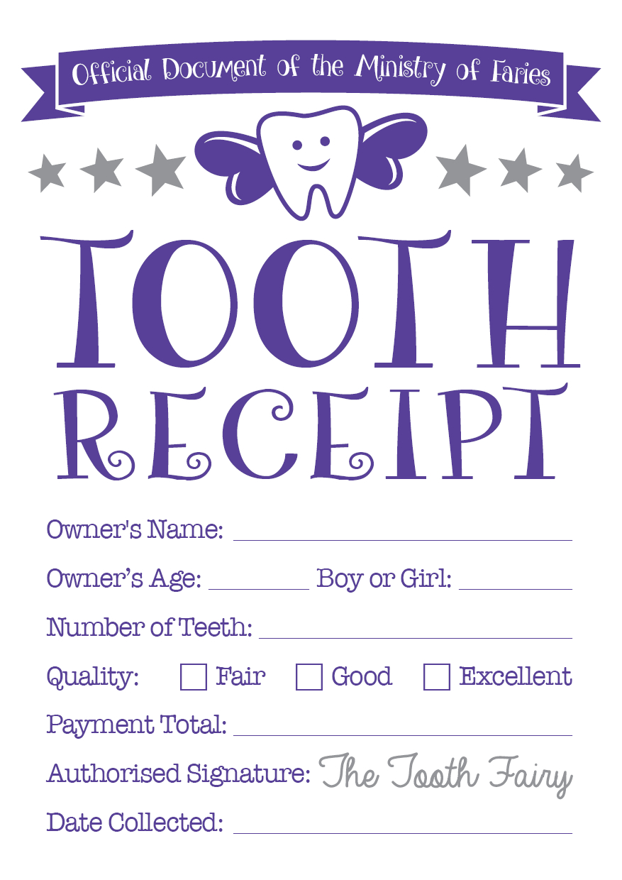 Easy Tooth Fairy Ideas  Tips For Parents  Free Printables With Regard To Tooth Fairy Certificate Template Free