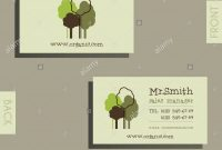 Eco Organic Visiting Card Template For Natural Shop Products And throughout Bio Card Template