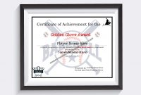 Editable Baseball And Softball Certificates  Certificates  Etsy with regard to Softball Certificate Templates Free