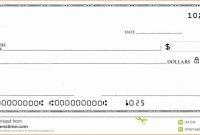 Editable Blank Check Template Ideas Imposing Pdf Word Free intended for Editable Blank Check Template