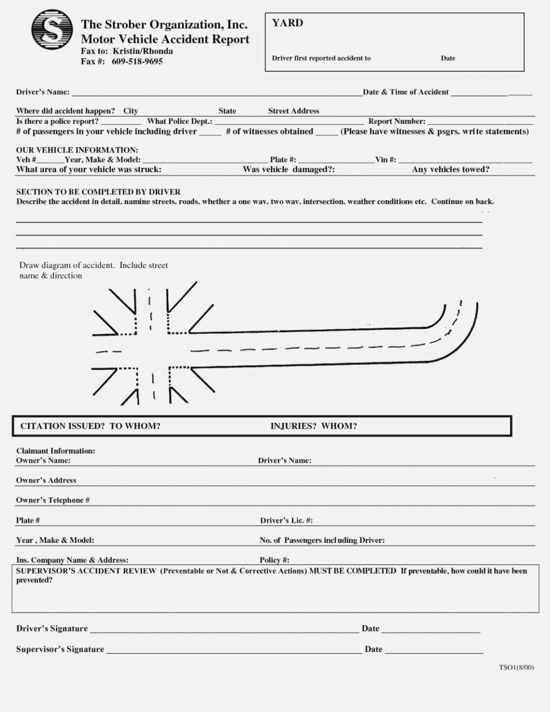 Editable Car Accident Incident Report Template Kubreeuforic The Within Motor Vehicle Accident Report Form Template