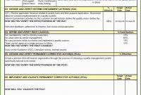 Einzahl D Report Vorlage Pdf Für within 8D Report Template Xls