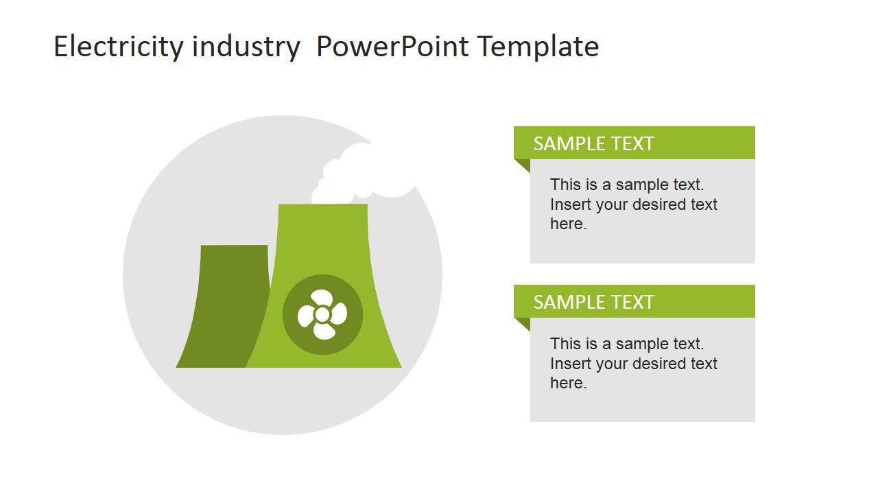 Electricity Industry Powerpoint Template  Slidemodel Within Nuclear Powerpoint Template