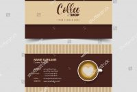 Elegant Coffee Business Card Template Free  Hydraexecutives within Coffee Business Card Template Free