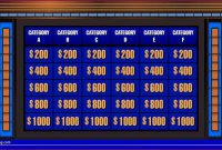 Elegant Jeopardy Powerpoint Template  Wwwpantrymagic in Jeopardy Powerpoint Template With Sound