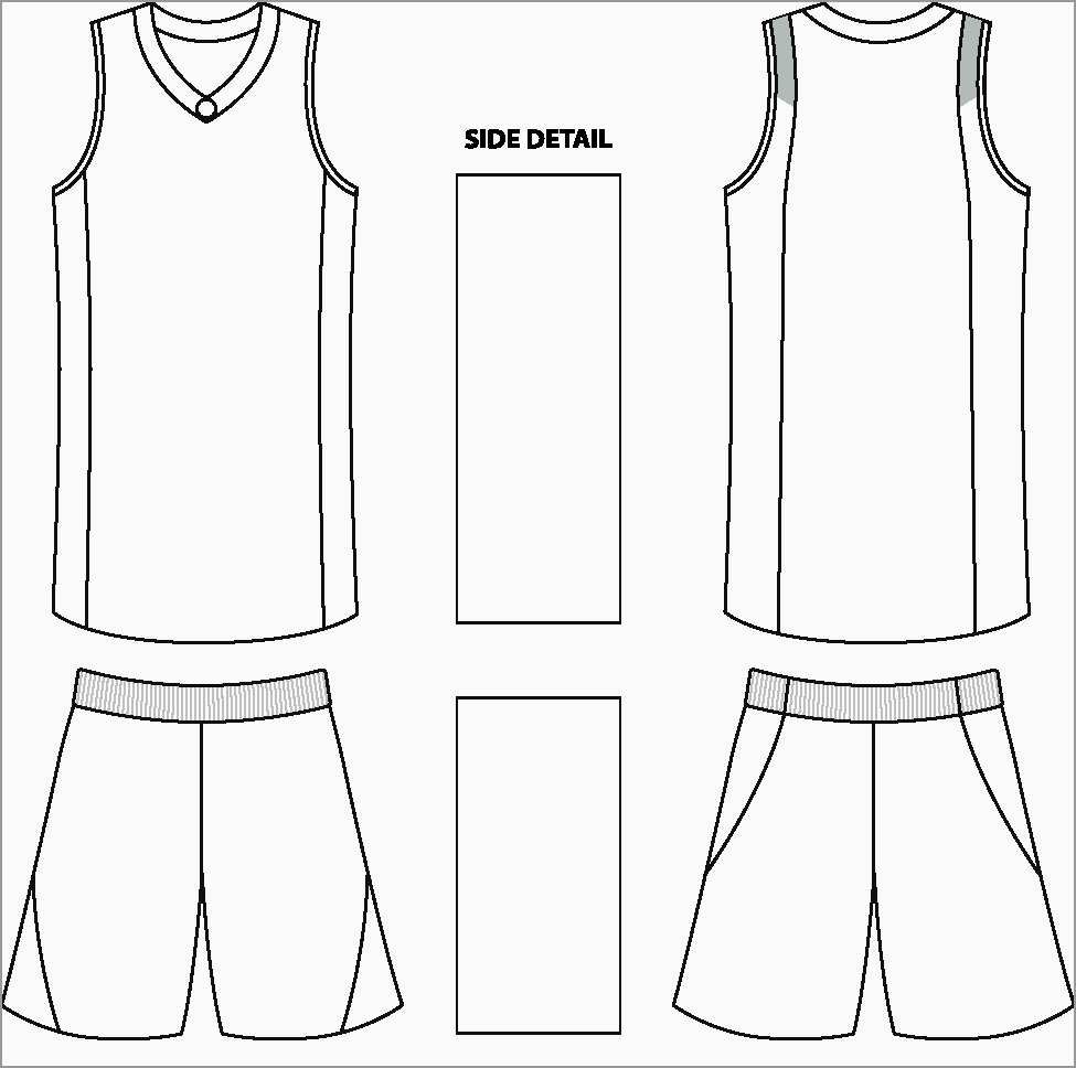 Elegant Soccer Jersey Template Psd Free  Best Of Template With Regard To Blank Basketball Uniform Template