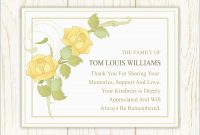Elegant Sympathy Card Templates Free Download  Best Of Template with Sympathy Card Template