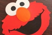 Elmo Popup Card  Repeat Crafter Me pertaining to Elmo Birthday Card Template