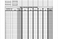 Employee Daily Work Report Template Schedule Excel Unique  Smorad with regard to Employee Daily Report Template