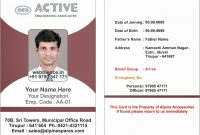 Employee Id Card Template Alpine Active Engineering New throughout Id Card Template For Microsoft Word