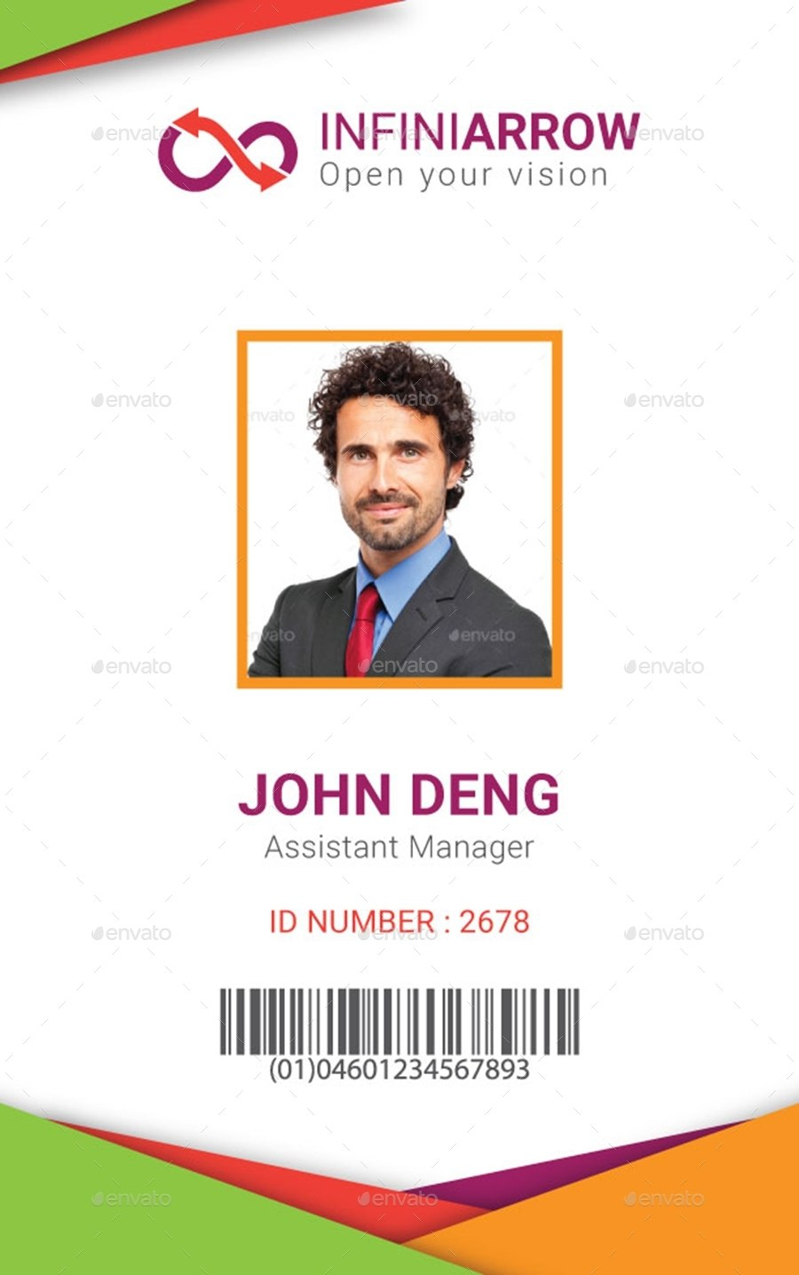 Employee Identification Card Template Ideas Multipurpose With Employee Card Template Word
