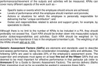 Employee Performance Management And Development System Epmds  Pdf pertaining to Individual Performance Agreement Template