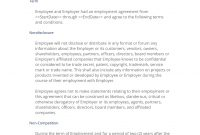 Employee Resignation Agreement Noncompete   Easy Steps within Standard Non Compete Agreement Template