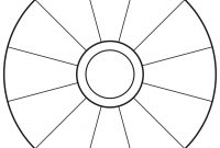 Empty Focus Wheel To Print  Abraham  Focus Wheel Word Wheel regarding Blank Wheel Of Life Template