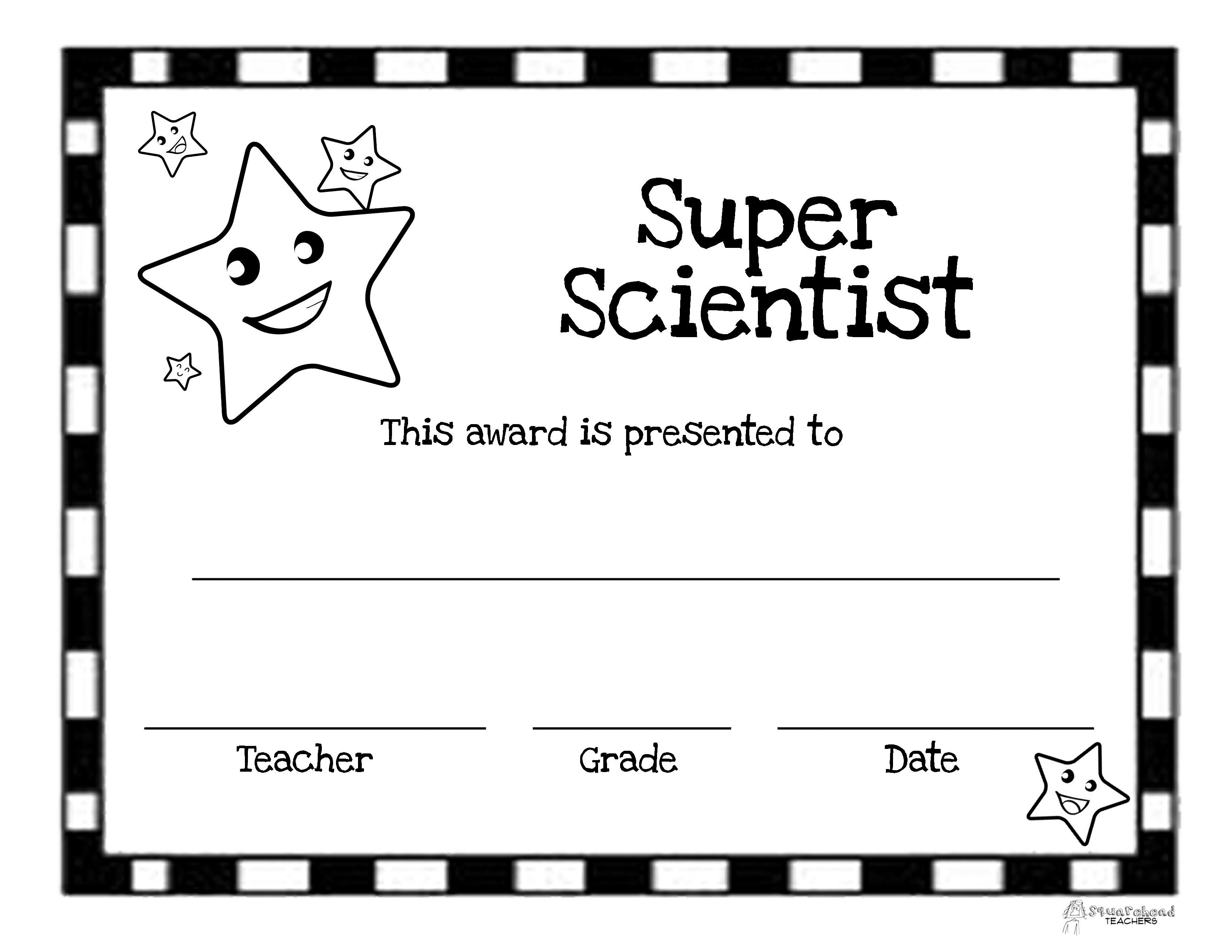 End Of The Year Awards  Printable Certificates  Blank One Intended For Student Of The Year Award Certificate Templates