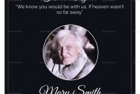 Eulogy Funeral Invitation Card Design Template In Word Psd Publisher within Funeral Invitation Card Template