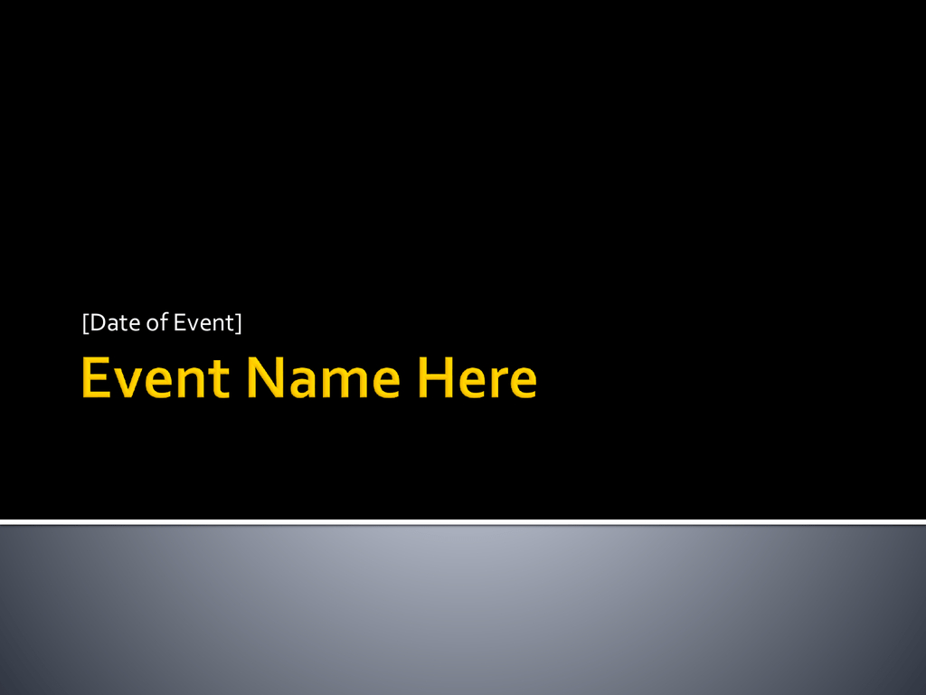 Event Debrief Template Inside Event Debrief Report Template
