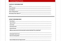 Event Inquiry Form   Free Documents In Word Pdf for Enquiry Form Template Word
