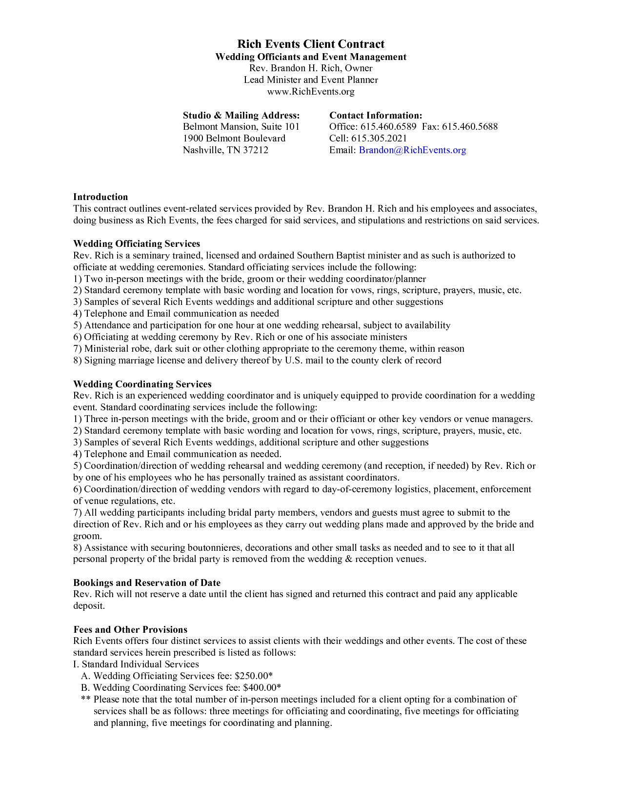 Event Planning Contract Template Plan Wonderful Templates Word In Party Planning Business Plan Template