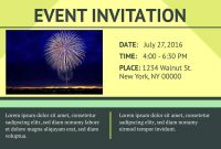 Example Of Invitation Card To An Event  Invitation Templates Free inside Event Invitation Card Template