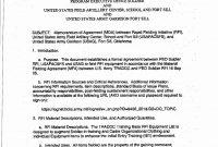 Example Of Memorandum Of Agreement New Army Memorandum To Pin On for Memorandum Of Agreement Template Army