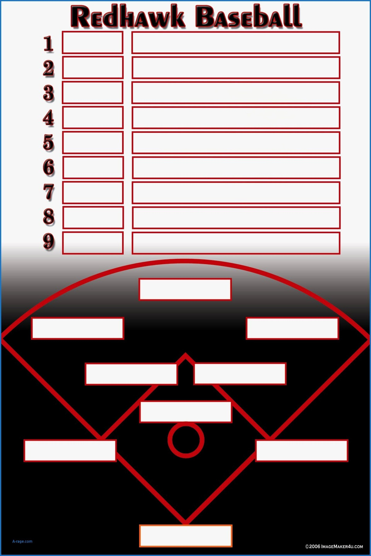 Excel Inspirational Lovely Rhdivaandmeproductionsinccom Baseball Inside Free Baseball Lineup Card Template