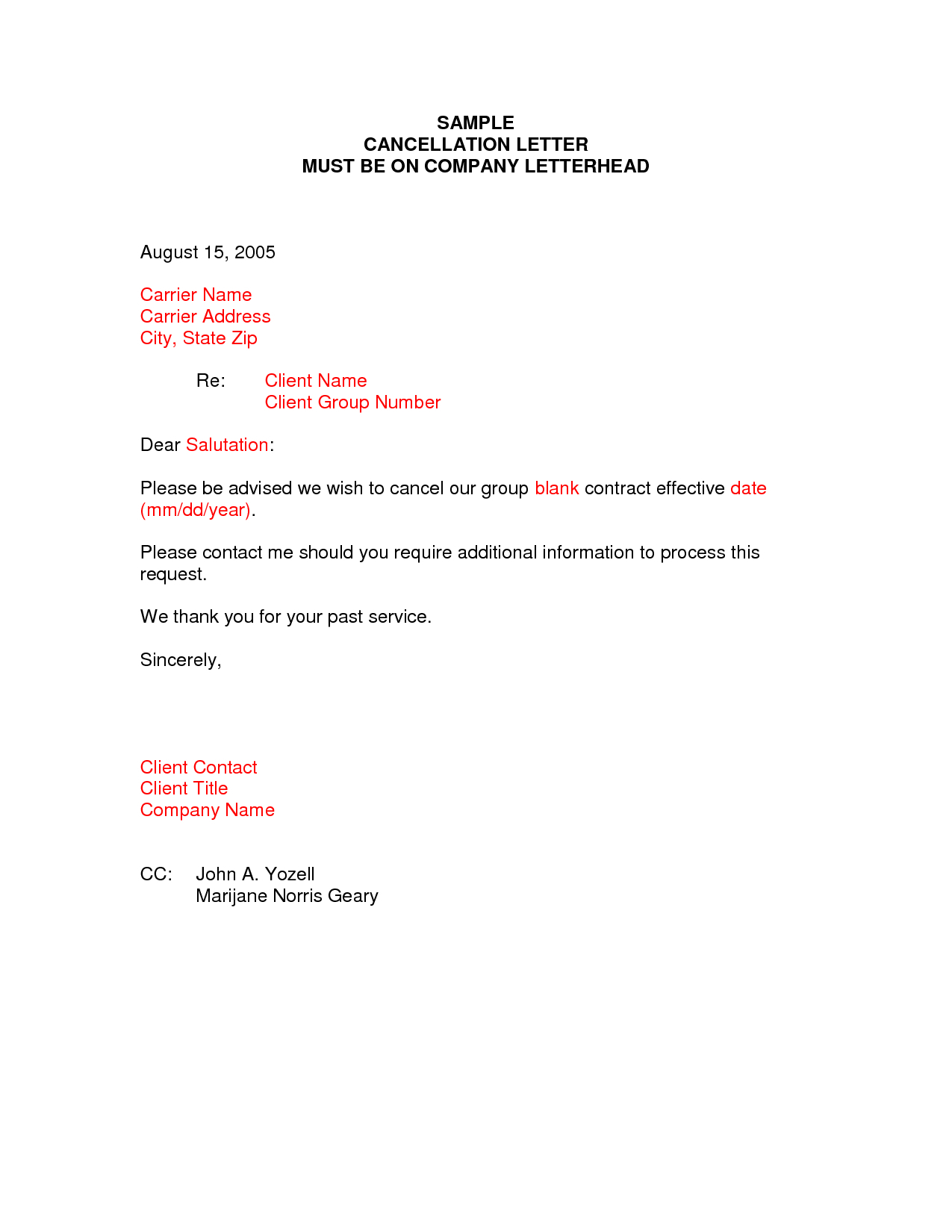 Extended Car Warranty Cancellation Letter Template Examples  Letter With Extended Warranty Agreement Template