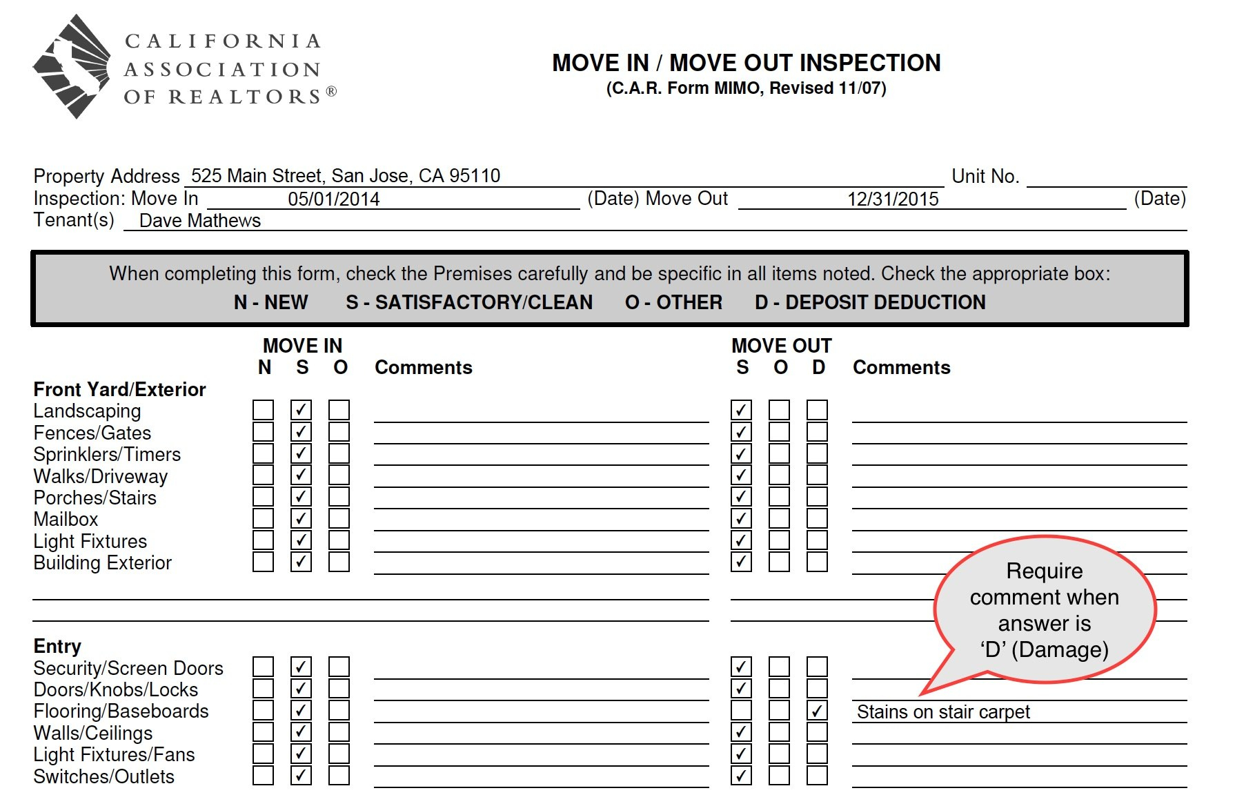 Ezinspections Sample Inspection Reports And Property Condition Reports In Home Inspection Report Template Pdf
