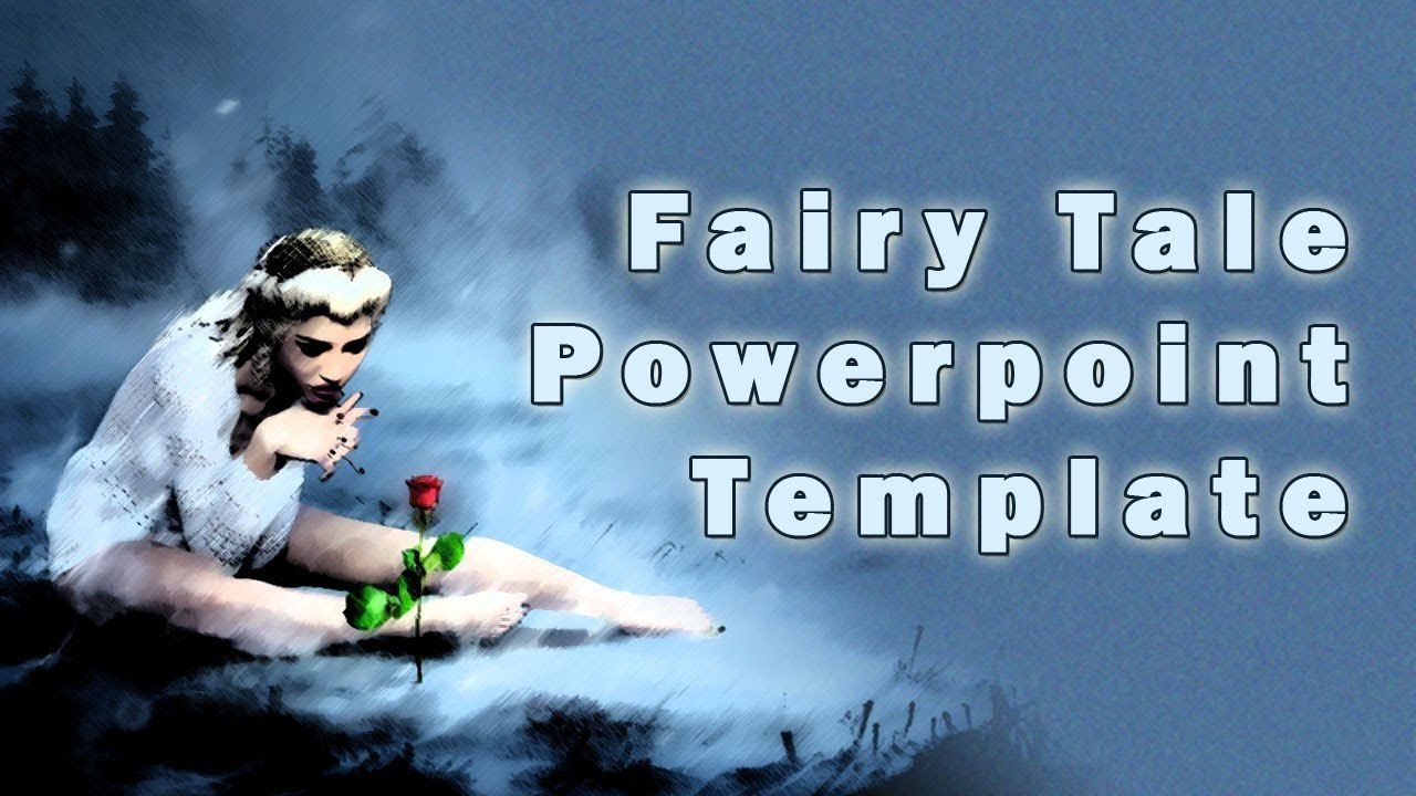 Fairy Tale Powerpoint Template With Clip Art  Youtube Inside Fairy Tale Powerpoint Template