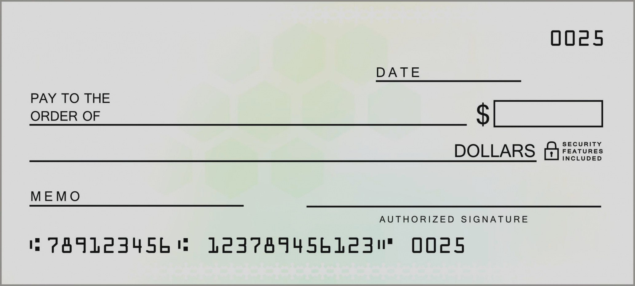 Fake Blank Check Template Cheque Free Awesome Payroll Templates With Regard To Large Blank Cheque Template