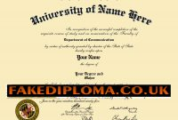 Fake Diplomas  Fake Degrees Any Country throughout Fake Diploma Certificate Template
