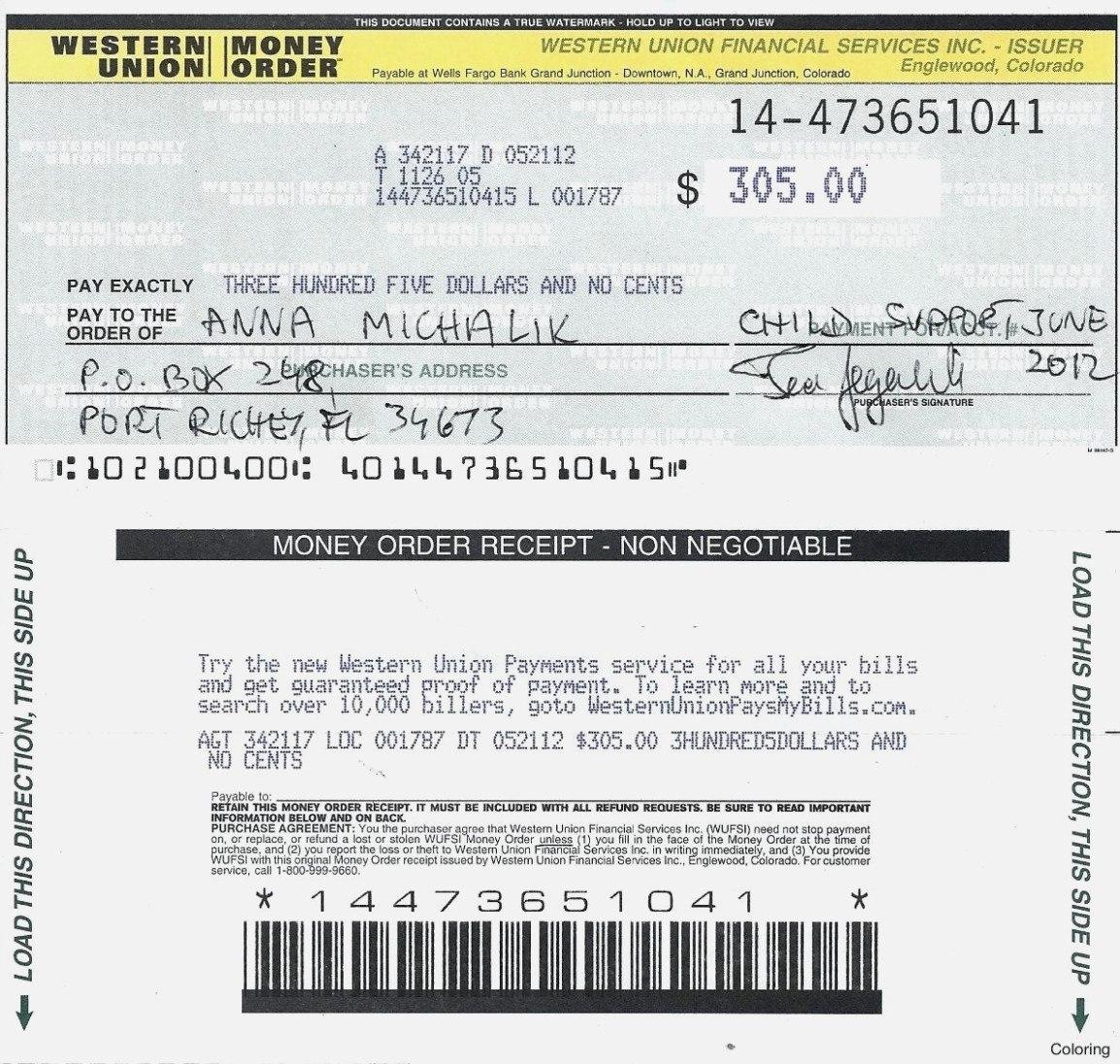Fake Money Order Template – Juvecenitdelacabrera – The Invoice And Regarding Blank Money Order Template