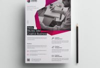 Fancy Professional Business Flyer Design Template   Graphic for Fancy Brochure Templates