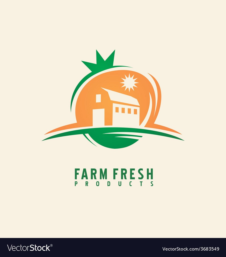 Farm Fresh Product Label Design Layout Royalty Free Vector Pertaining To Product Label Design Templates Free