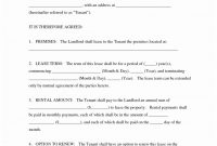 Farm Land Lease Agreement Template Simple Form Ideas Beautiful for Land Rental Agreement Template